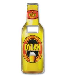 Magneet fles opener - Dylan
