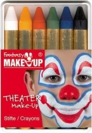 Make-up stiften doosje 6 kleuren