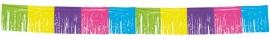 Franje Vlaggenlijn Ass.kleur 10mtr