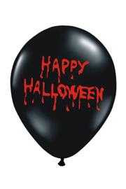 Ballonnen Happy Halloween 6st.