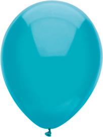 Ballonnen 100st. Teal standaard