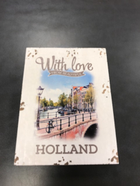 Houten deco Holland - With love