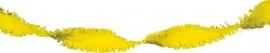 Draaiguirlande Geel 6mtr