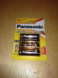 Batterijen panasonic AA 4st.