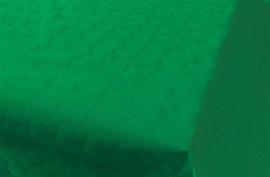 Tafelkleed damast donkergroen 8m x 118cm