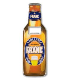 Magneet fles opener - Frank