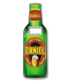 Magneet fles opener - Daniel
