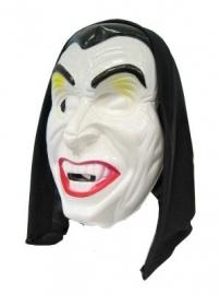 Masker pl. Dracula met hoofddoek