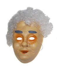 Masker pl. oude vrouw met haar