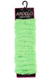 Beenwarmers softy fluor groen