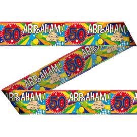 Markeerlint 50 jaar Abraham 15m