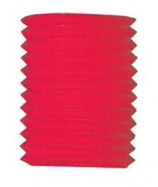 Lampion 16cm rood
