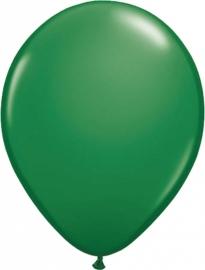 Ballonnen 10st. Donker Groen standaard