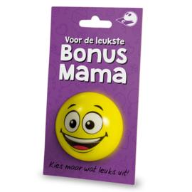 Cadeaukaarthouder stressball - Bonus mama