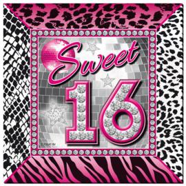 Servetten Sweet 16 20st.