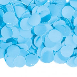 Confetti babyblauw 100gr (BrV)
