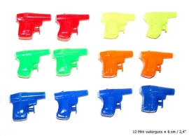 Waterpistool mini 6cm /12st.