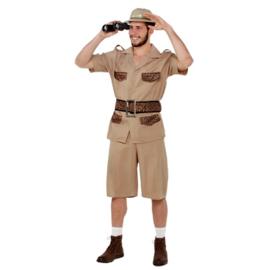 Safari heer volwassen maat