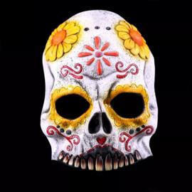 Masker Day of the dead half