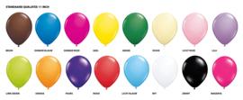 Standaard heliumballonnen