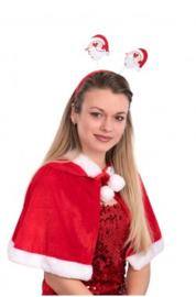 Diadeem met kerstman