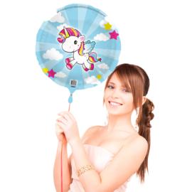 Folieballon eenhoorn