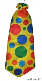 Clown stropdas 53cm