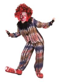 Creepy clown Lune jumpsuit mt. 116