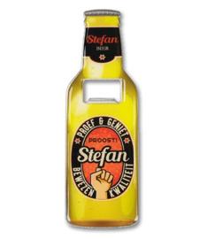 Magneet fles opener - Stefan