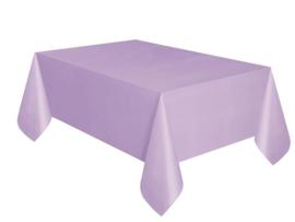 Tafelkleed plastic lila 137x274cm
