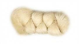 Wolcrepe naturel (buffelhaarkleur) 10cm