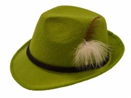 Jagershoedje Tirol groen