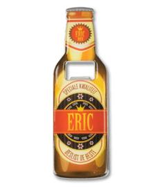 Magneet fles opener - Eric