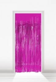 Deurgordijn folie roze lxb = 2x1m