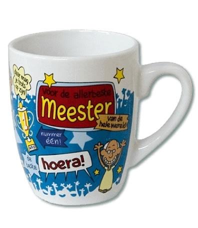 Mok Cartoon Meester