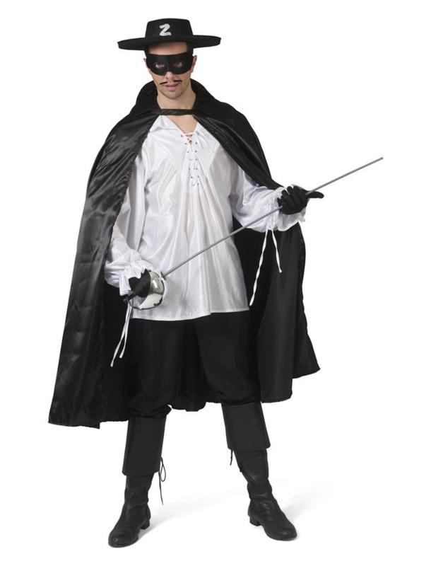 Zorro cape one size