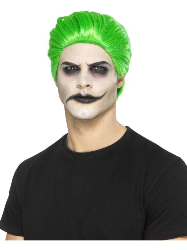 Pruik the Joker groen
