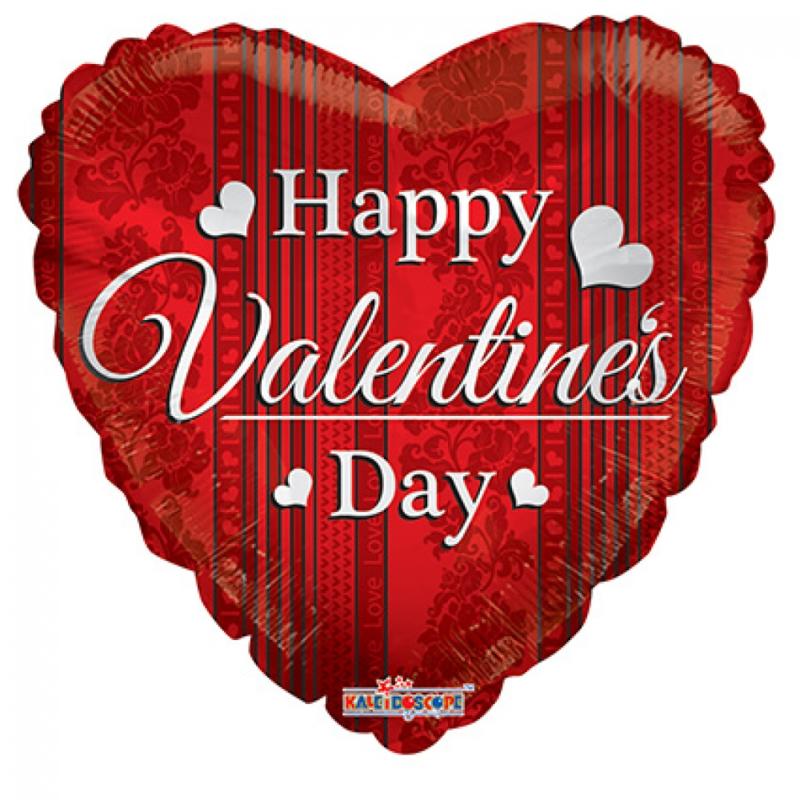 Folieballon Happy Valentine's Day 90cm