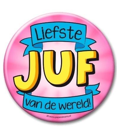Button XL Juf