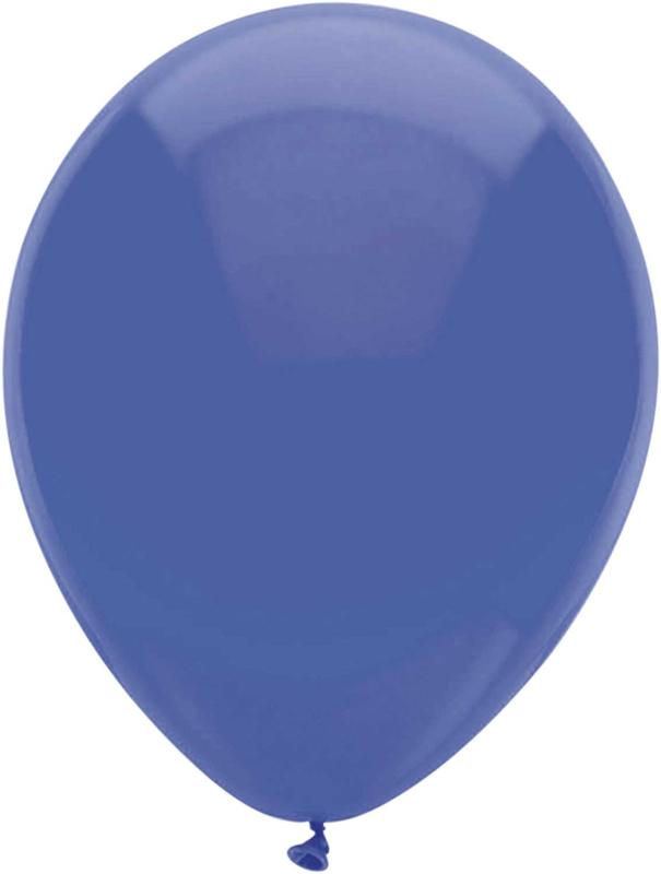 Ballonnen 100st. Donker Blauw metallic