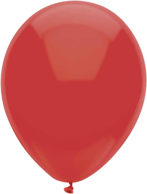 Ballonnen 100st. Rood standaard