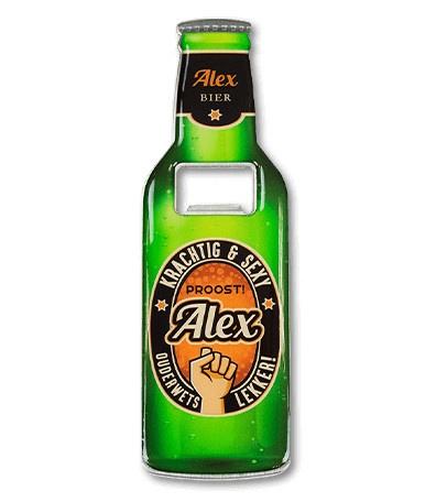 Magneet fles opener - Alex