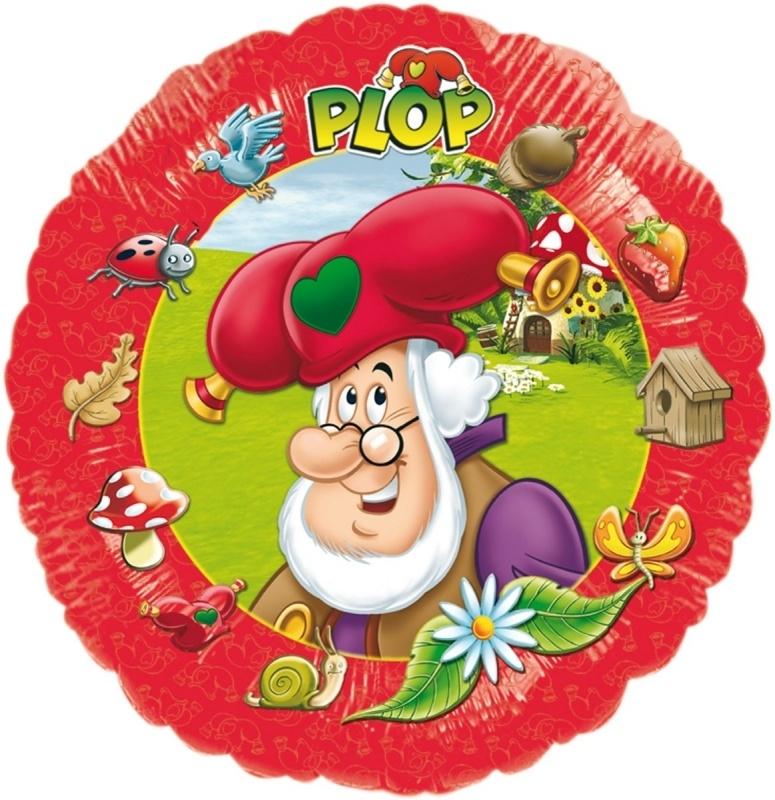 Folieballon Plop