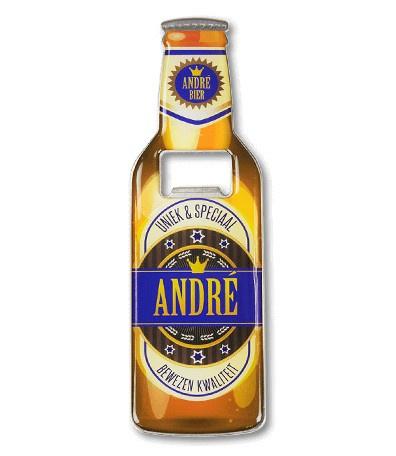 Magneet fles opener - André