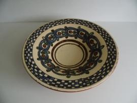 Mooie handgemaakte grote schaal (Art.14-2188)