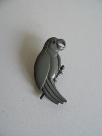 Papegaai broche uit de jaren 70 (Art.16-1460)