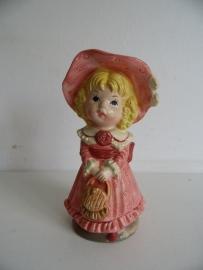 Beeldje meisje uit de jaren 70 (Art.15-2426)