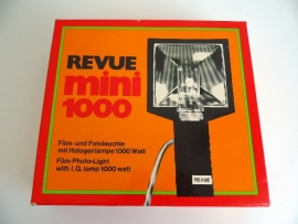 Revue mini 1000 Film Photo Light Q lamp (Art.15-2000)