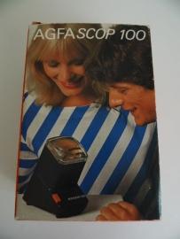 Agfa scop 100 Slide vieuwer uit 1975 (Art.15-1995)