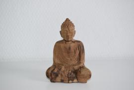 Houten Boeddha beeldje (Art.21-1656)